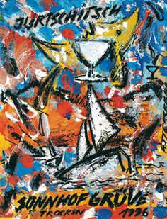 GRÜVE christian ludwig attersee Ludwig, Painting, Wine, Abstract, Kunst, Painting Art, Paintings, Painted Canvas, Drawings