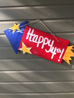 July 4th Rocket Handpainted Wood Door Hanger by KMCWoodDesigns on Etsy https://www.etsy.com/listing/288447393/july-4th-rocket-handpainted-wood-door