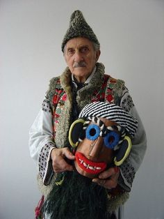 Traditional Romanian Mask by AuthenticRomania