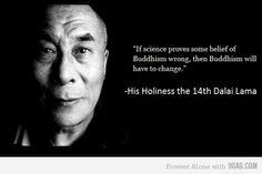Dalai Lama, doing it right.
