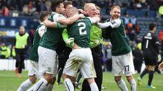 Scottish Cup semi-final: Hibernian 0-0 Dundee United (Hibs win 4-2 on penalties) - BBC Sport