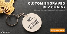 Designer key chains ! Personalize with your name/contact details! Order Link -->> http://www.printvenue.com/c/key-chains?utm_source=Pinterest&utm_medium=Post&utm_campaign=Keychains_12Feb14