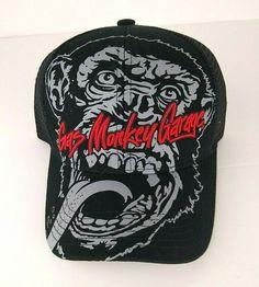 160a84b7e94 Details about Gas Monkey Garage Snap Back Unisex Ball Cap Trucker Mesh  Black Red Gray