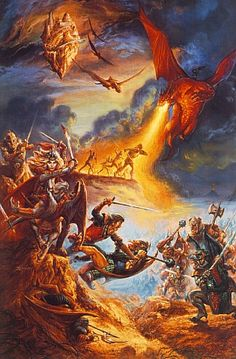 Battle of Salamnia by Jeff Easley