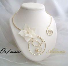Parures aluminium - Adénais - Bijoux pour les mariages, cérémonies et soirées