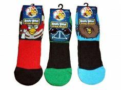 Lassille: ANGRY BIRDS star wars -sukat. Kaikki värit käy. Koko 31-36. 2,95 €