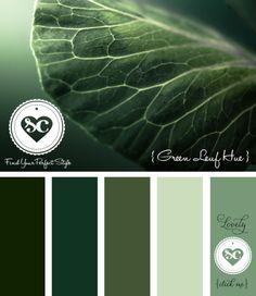 013 Green Leaf Hue by Asmalina© 2012 Sorbetcolour ™ More