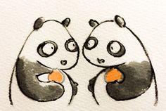 2014.3.1 【一日一大熊猫】 不知火(しらぬい)と言う品種の 糖度13度以上、酸度1度以下で 柑橘関係農協県連合会を経由したものに限り 「デコポン」として売られているよ。 見た目では分からないから 中身を見抜く力が何でも大切だね。 #パンダ #デコポン