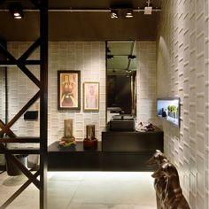 SUITE-URBAN-CASACORSC (2). Bathrooms - Baños, banho, banheiro. Produto Cerâmica Portinari, Plaza GR e Olden HD.