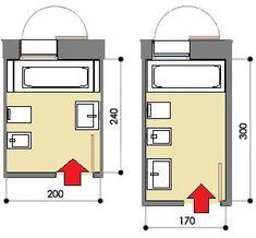 Risultati immagini per progetto bagno piccolo con lavatrice toilet bathroom bath e bathroom spa - Progetto bagno 2x2 ...