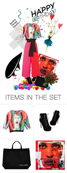 """""""Happy Birthday Polyvore"""" by kari-c ❤ liked on Polyvore featuring art, contestentry and happybirthdaypolyvore"""
