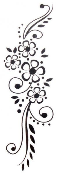 Even though these say temporary tattoo's they make great designs for pyrography Stencil Patterns, Stencil Designs, Henna Designs, Hand Embroidery, Embroidery Designs, Stencils, Wood Burning Patterns, Arabesque, Pyrography
