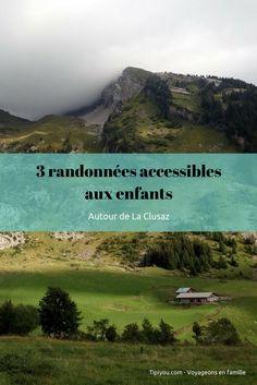 3 randos accessibles aux enfants dans la région de La Clusaz