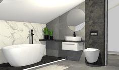 Praca konkursowa z wykorzystaniem mebli łazienkowych z kolekcji KWADRO PLUS #naszemeblenaszapasja #elitameble #meblełazienkowe #elita #meble #łazienka #łazienkaZElita2019 #konkurs Toilet, Bathtub, Bathroom, Design, Standing Bath, Washroom, Bath Tub, Litter Box, Bathtubs