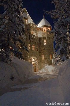 Castle Magic in Sandpoint, Idaho (Luxury vacation property)