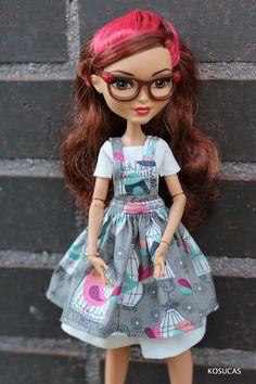Outfit for Ever After High dolls. por Kosucas en Etsy