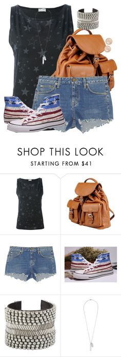 """""""Steve Rogers Inspired Warm Weather Outfit"""" by lauloxx ❤ liked on Polyvore featuring Yves Saint Laurent, Doucal's, Converse, Raga, Vince Camuto, Saachi, Summer, casual and steverogers"""