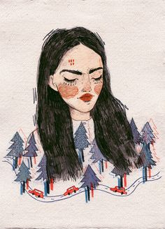 pinterest // le.pvrvsite » art » drawing » inspiration » illustration » artsy » sketch