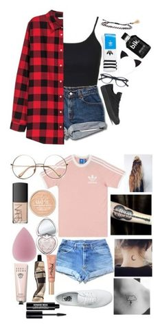 """""""my most liked set"""" by moeburgs17 ❤ liked on Polyvore featuring Topshop, H&M, Converse, adidas, Isabel Marant, adidas Originals, Vans, NARS Cosmetics, Too Faced Cosmetics and Aesop"""