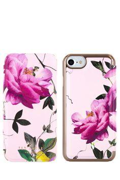 Ted Baker Folio Case for iPhone 7 Citrus Bloom - Nude #tedbaker #case #citrusbloom #folio