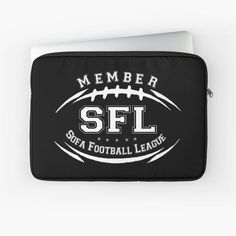 Buy Sofa, Laptop Case, Laptop Sleeves, Football, Printed, Awesome, Stuff To Buy, Products, Art