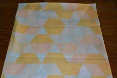 Retro geometric fabric curtains Design by scandinavianseance