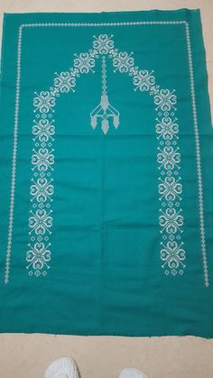 Baby Knitting Patterns, Cross Stitch, Towels, Hardanger, Punto De Cruz, Dots, Seed Stitch, Cross Stitches, Crossstitch