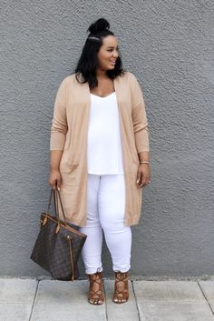 25 Casual Fall Work Outfits for Plus Size Women Best Plus Size Jeans, Look Plus Size, White Jeans Plus Size, Plus Size Fall, Plus Size Summer, Plus Zise, Mode Plus, Womens Fashion Casual Summer, Womens Fashion For Work