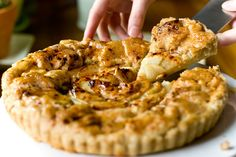 Tarte aux Pommes, slice by teenytinyturkey, via Flickr