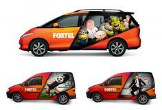 Foxtel Brand Identity - Sydney Design Awards