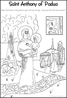 Catholic Saints Coloring Books
