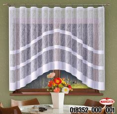 Adelaida Oblouk (ZM) - Svetzaclon.cz - Obchod se záclonami. Valance Curtains, House, Home Decor, Blinds, Decoration Home, Home, Room Decor, Home Interior Design, Homes