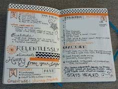A Peek Inside My Bullet Journal - Sublime Reflection