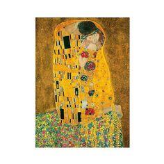 Art.com Wallpaper Mural - Gustav Klimt, The Kiss, Golden Mist ($125) ❤ liked on Polyvore featuring home, home decor, wallpaper and golden mist