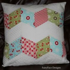Chunky ZigZag Pillow Tutorial
