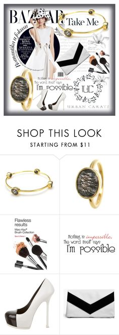 """""""Urban Carats"""" by sirena39 ❤ liked on Polyvore featuring Yves Saint Laurent, Boohoo and urbancarats"""