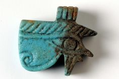Wadjet (Eye of Horus) amulet  date unknown  © Rijksmuseum van Oudheden  (Leiden, the Netherlands)