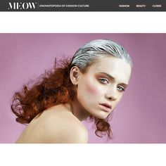 Anna Bertulite en MEOW Magazine por Eduardo Garcia!