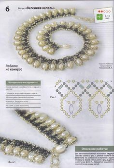 Another Pinner wrote: Can anyone translate the bead identities?  I think that this necklace is stunning.