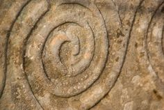 Tarxien Temples, Malta - carved spiral relief #world #heritage