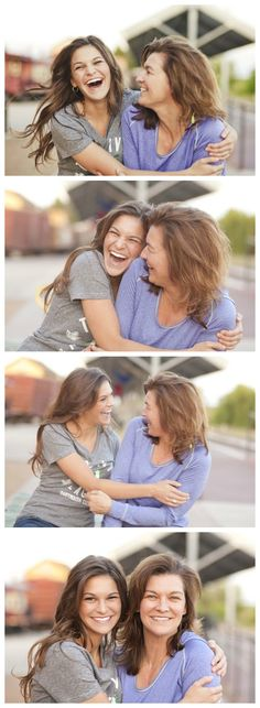 Fun mother daughter pics on senior shoot.  Click for 28 senior poses!  www.Lisa-Marie-Photogrpahy.com, Lisa McNiel