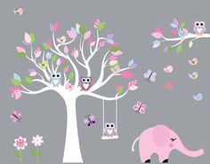 Baby Nursery Wall Stickers Children Wall Decal by NurseryDecals, $125.99