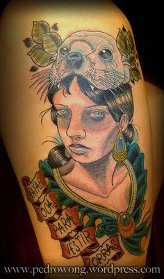 #pedrowong #perewong #pw #tattoos #matarfocasparavestirzorras #girona