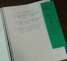 Notebook dividers - improve student organization and make grading notes a breeze!