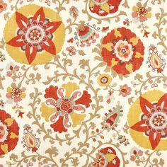Braemore Silsila Curry Fabric