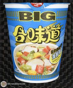 The Ramen Rater reviews a popular instant noodle from Hong Kong - a seafood Cup Noodles Big - leftover from a Meet The Manufacturer series