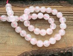 Для украшений ручной работы. Ярмарка Мастеров - ручная работа. Купить Кварц розовый 10 мм шар огранка бусины камни для украшений. Handmade.