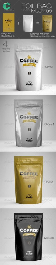 Foil Bag Mock-up – GraphicRiver » Free Hero Graphic Design: Special GFX Posts Vectors AEP Projects PSD Sources Web Templates 3D Stock Images | HeroGFX.com