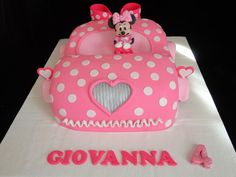 Minnie mouse car cake  - Cake by Bella