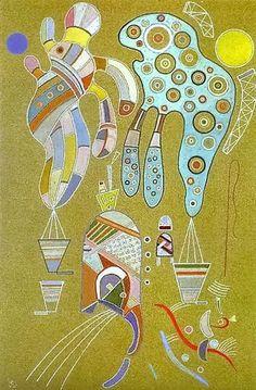 Wassily Kandinsky, untitled -1941 on ArtStack #wassily-kandinsky-vasilii-vasil-ievich-kandinskii #art